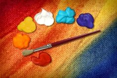 10 recipes for homemade art supplies: fingerpaint, watercolor paint, puff paint, playdough, flubber, bath crayons, lick&stick;, stickers, bubble mix, sidewalk chalk & chalkboard paint.