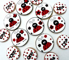 Ladybug Party by Vicki's Sweets, via Flickr