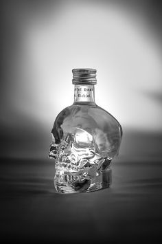 Amazing photography of Crystal Head Vodka 50 ml from snapshotsofthought on Tumblr