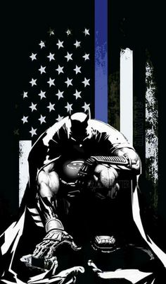 These days, when uncertain economic times are putting many careers in doubt, an increasing number of people are looking to work in law enforcement. Police Tattoo, Police Lives Matter, I Am Batman, Batman Stuff, Lego Batman, Police Life, Warrior Spirit, Blue Bloods, Thin Blue Lines