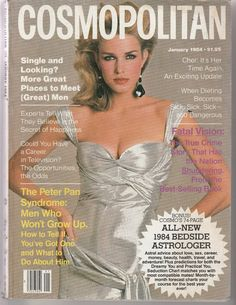 Cosmopolitan magazine, JANUARY 1984 Model: Anette Stai Photographer: Francesco Scavullo