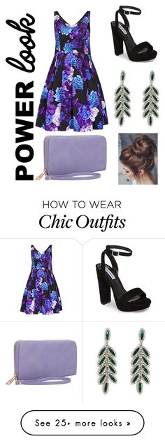 """Women Power Look"" by tableofcontentsblog on Polyvore featuring City Chic, Forever 21, Dasein, Steve Madden, girlpower and powerlook"