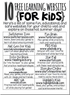 Awesome Educational Websites for Kids You Must Bookmark