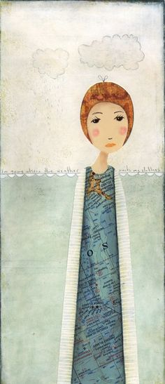 katherine quinn   Where the weather suit my clothes... a print by Katherine Quinn