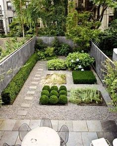 Small garden design ideas are not simple to find. The small garden design is unique from other garden designs. Space plays an essential role in small garden design ideas. Small Backyard Design, Small Backyard Gardens, Backyard Garden Design, Small Backyard Landscaping, Garden Spaces, Back Gardens, Small Gardens, Outdoor Gardens, Landscaping Ideas