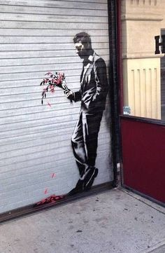 Banksy Waiting in Vain - Bing images