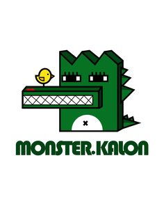 MONSTER.KALON • character • crocodile • monster • Illust • design • cute • animal • unique