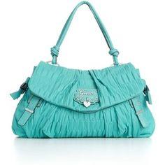 Guess Handbag, Emelie Flap Bag - Polyvore