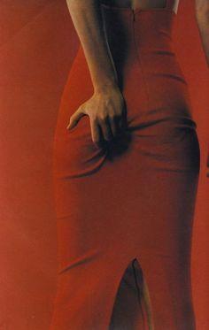 I-D dec 1996 Amber Valletta by Juergen Teller style by Camilla Nickerson