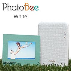 Introducing Photobee Portable Wifi Photo Printer  White. It is a great product and follow us for more updates!
