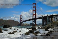 Views of the Golden gate bridge. Click on this post for the best Place to capture in San Francisco - http://travelphotodiscovery.com/san-francisco-views-to-die-for/