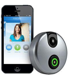 SkyBell WiFi Doorbell - Answer Door from SmartPhone