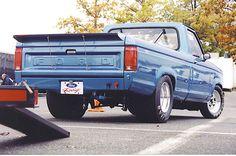 ford ranger drag truck