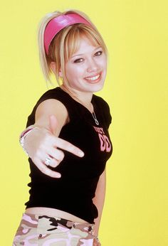 Young Hilary Duff