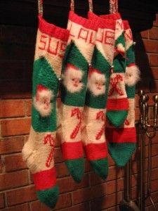 Ravelry: Vintage 'Bernat Stocking Pak' Style Christmas Stocking ...