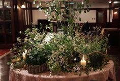秋の装花 クラシカル&ガーデン風 シェ松尾青山サロン様へ : 一会 ウエディングの花