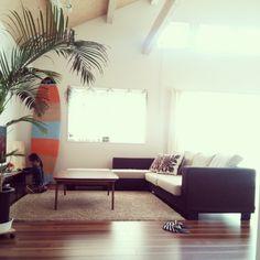 lei_alohaさんの、部屋全体,ナチュラル,ソファ,吹き抜け,ハワイアン,ハワイ,HAWAII,西海岸,南国風,sea,アロハ部,カリフォルニアスタイル,サーフテイストが好き♡,のお部屋写真
