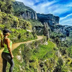 Italy. Take me back  (Path of the Gods, Amalfi Coast)says PMOY  Sara  Underwood I almost didn't see you in this photo cause your beauty meshes into the outdoor beauty of the Amalfi Coas