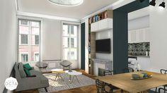 Atelier OCTA, rénovation, aménagement, appartement, lyon, chambre ...