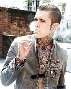 rockabilly mens hair