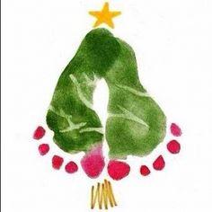 Sugestão de cartão para presentear a família da criança no Natal!