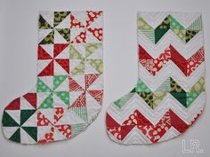 Christmas stockings If you like them Pinit for later. | Christmas ... : pattern for quilted christmas stocking - Adamdwight.com