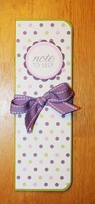 Paper Perfect Designs: Skinny Notepad Tutorial
