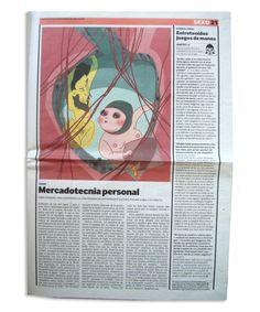 El Pais de las Tentaciones. Diario EL PAIS, España by Daniela Guglielmetti, via Behance