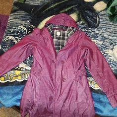 Roxy Magenta Coat The coat is an XL but I believe it's a girl's XL because I'm a S/M is coats. It's very warm and stylish. Roxy Jackets & Coats Trench Coats
