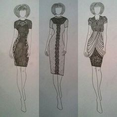 #fashion #moda #mode #lace #pearls #pencil #graffit #draw #drawing #illustration #fashionillustration #design #designer #fashiondesign #fashiondesigner #style #stylist