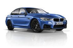 2014 BMW M3  Leaked long before its debut later this year, the four door M3 (the coupe will now be called the M4) shows off its new duds with agressive new looks and lower, meaner profile. Word is the car will be powered by a 3.0L six-cylinder, 450-hp twin turbo that takes the car from 0-62 in 4.3 seconds and will top out at 155 mph or 180 mph without the limiter. The new M3 is expected to hit showrooms next summer.