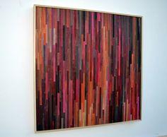 Resumen pintura de acrílico sobre madera  arte por moderntextures