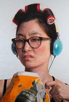 Painting by Kang Kang Hoon