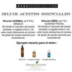 diluir aceites esenciales