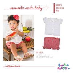 Moda Bebê | Moda Baby | Look de Verão | Look Para a Princesa