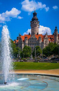 Leipzig (byHeribert Pohl).  ♥  ♥  ♥  Wir lieben Deutschland. Deutschland liebt die Trinkflasche aus Glas von EPiCO BOTTLES. Finde sie auf https://epicobottles.de/