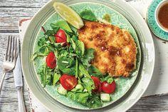 Chicken Schnitzel & Lemon Butter Sauce Recipe | HelloFresh