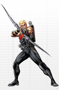 Avengers Hawkeye by JPRart.deviantart.com on @deviantART