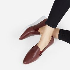 Leather Slip-on Shoes by Everlane