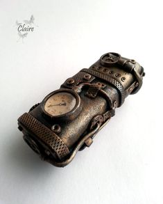 Steampunk USB Flash Drive by JewelryClaire on Etsy