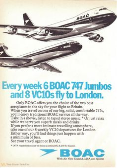 BOAC 1970s