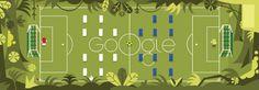 Inghilterra vs Italia - love Google Doodles!!!