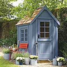 Garden and potting sheds - plastic, metal and wooden - to inspire. Big and small, town and country, contemporary and classic; the best can be found on House & Garden.