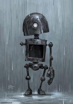 El diseñador de videojuegos británico, Matt Dixon, ha creado una colección de ilustraciones donde el personaje principal es un robot solitario que intenta sobrellevar situaciones cotidianas. Entusiasta de los robots desde siempre, Matt se ha...
