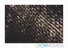 metal, crosshatch, geometric, light, modern, art, photography, travel, Tony Koukos, Koukos