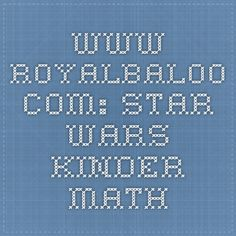 www.royalbaloo.com: star wars kinder math