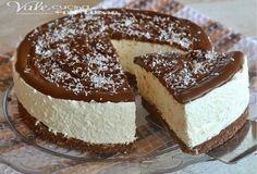 Cheesecake al cocco e nutella ricetta senza cottura