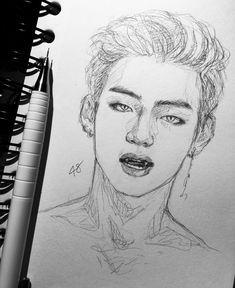 infinity `ˋ arts of bts ˊ` kpop drawings, bts drawings Sketches, Sketch Book, Art Drawings, Drawings, Kpop Drawings, Drawing Sketches, Art, Art Reference, Fan Art
