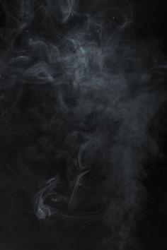Blurred Smoke On Black Background