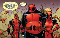 And Deadpool was still awesome. The end.
